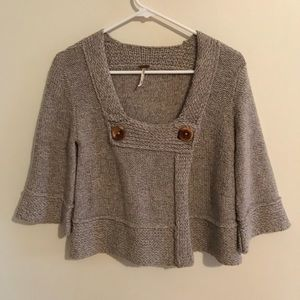 Free People Wool Blend Shrug Size Xs